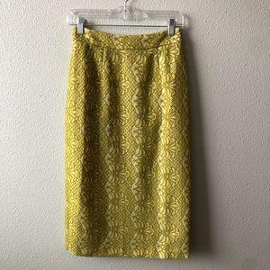 Elliatt NWT Delirium Lace Skirt in Citron Sz Small